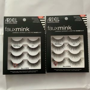 2 ARDELL PROFESSIONAL Faux Mink 8 Pairs Eye Lashes